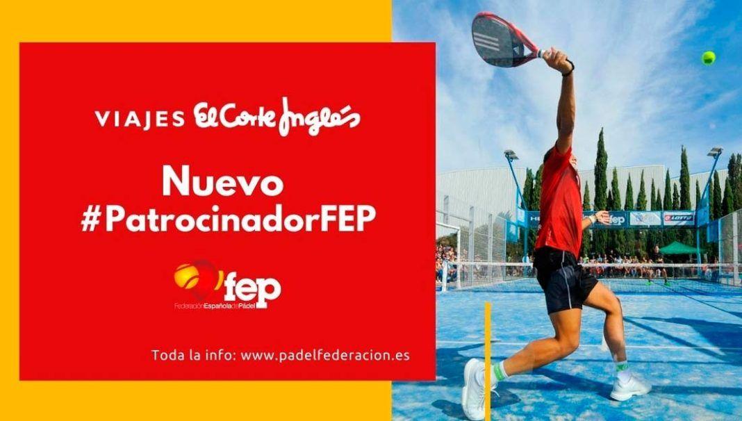 Viajes El Corte Inglés, nuevo Patrocinador oficial de la FEP