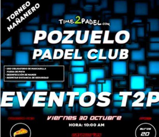 Tournois Time2Padel: un pont plein de tournois