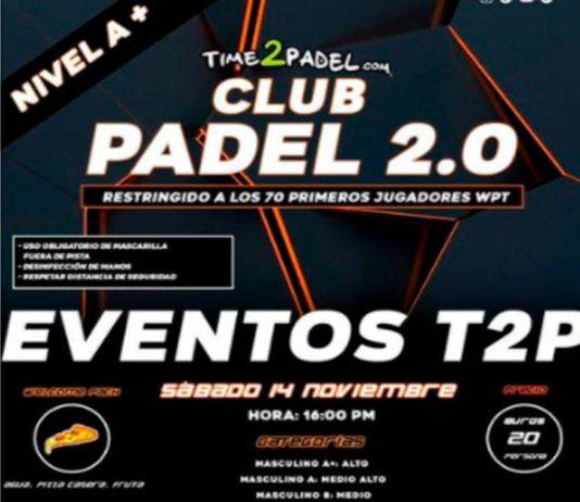 Tornei Time2Padel: A per un altro fine settimana con il paddle tennis come protagonista
