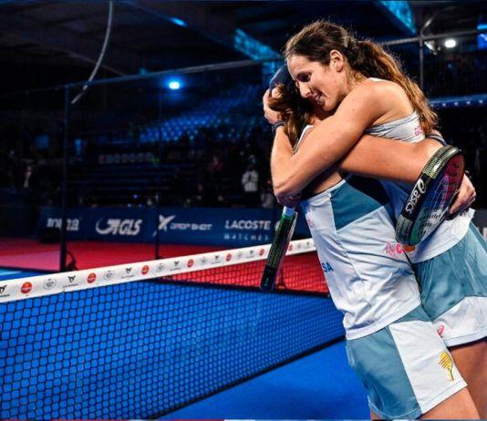 Lucía Sainz e Gemma Triay: numero 1 e ... insegnanti !!