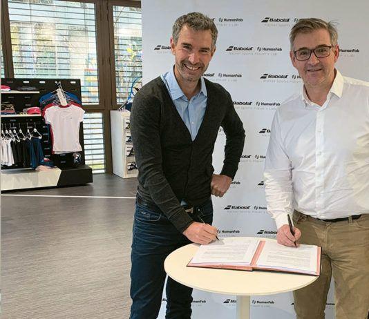 Babolat y HumanFab: Un ambicioso proyecto para los jugadores de deportes de raqueta