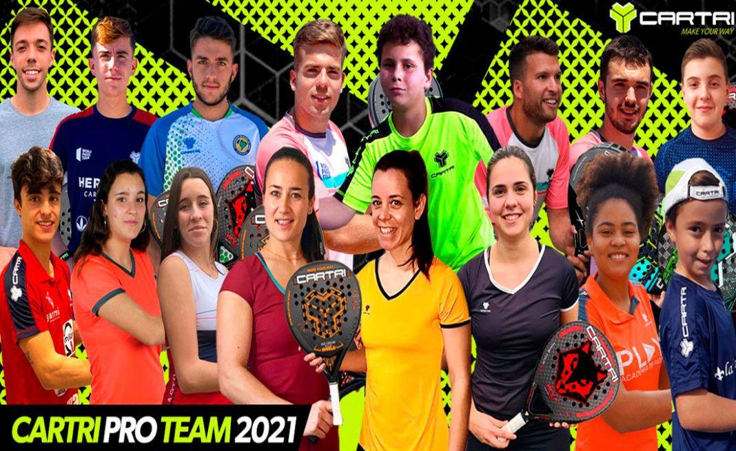 Verso un 2021 ricco di sfide ... Il 'Who is who' del Team Cartri