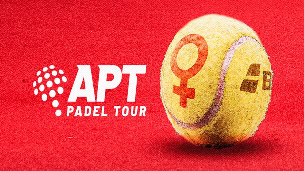 La pagaia femminile arriva anche all'APT Padel Tour