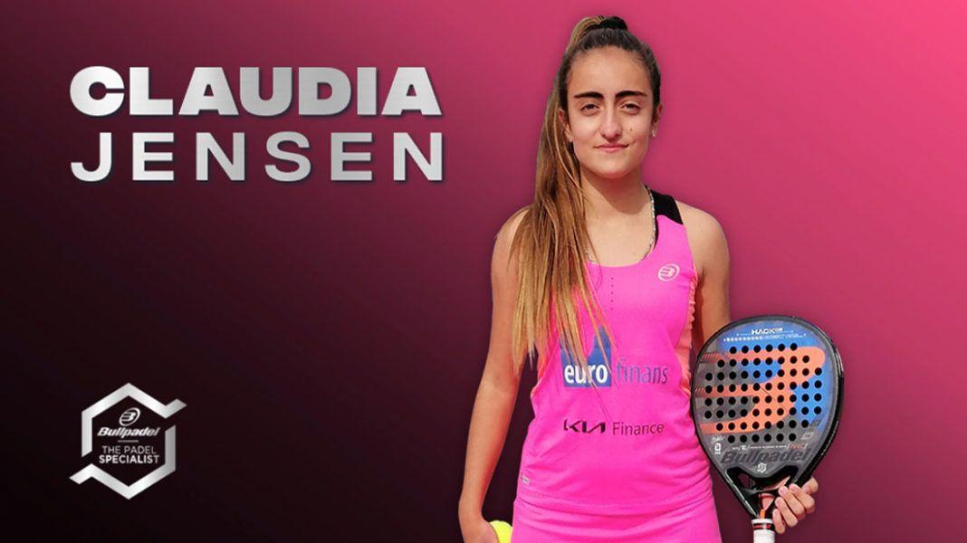 Claudia Jensen: Presente y futuro para el Bullpadel Team