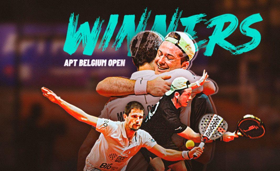 Oliveira - Rocafort, vincitori senza aver giocato al Belgium Open