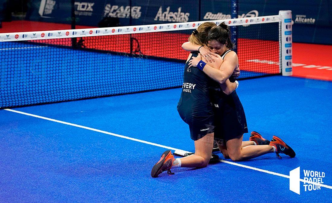 Alicante Open: Ari y Paula no fallan y estarán de nuevo en la final
