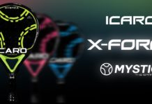 A pá mais 'natural' retorna para Mystica: Icaro X-Force 2021