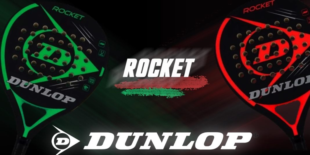 Dunlop Rocket Green and Red: Efectivo y sencillo