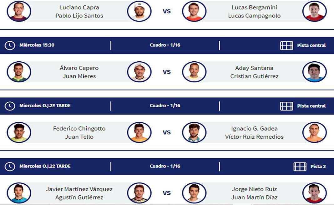 Adeslas Madrid Open: Orden de Juego de la primera jornada