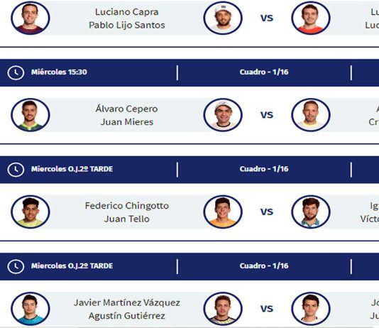 Adeslas Madrid Open: ordine di gioco del primo giorno