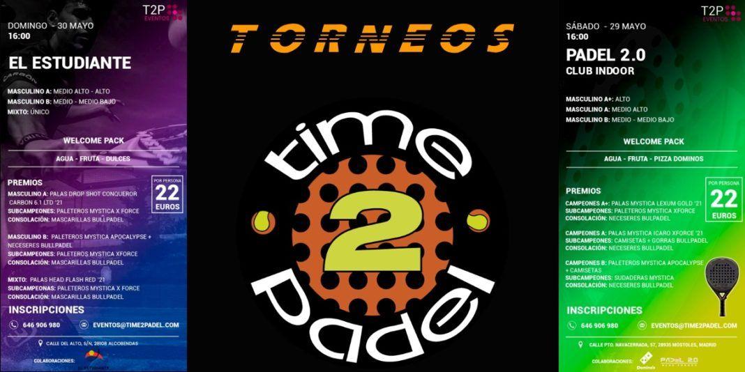 Pronti, partenza ... I tornei Time2Padel sono tornati !!
