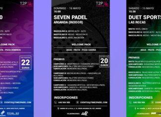Torneos Time2Padel: Un gran plan para el fin de semana