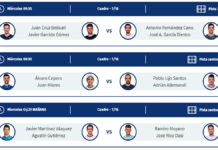 Vigo Open: Order of Play del primo giorno