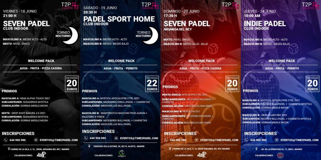 Un altro weekend indimenticabile con i tornei Time2Padel