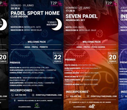 Un autre week-end inoubliable avec les tournois Time2Padel