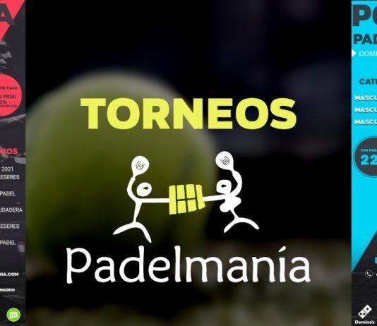 Plein de plaisir dans les tournois de Padelmanía