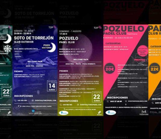 Tournois Time2Padel et Padelmania : Un week-end plein de fun
