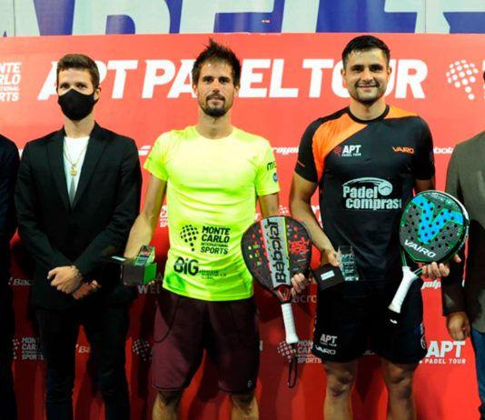 Miguel Oliveira - Yain Melgratti debutan como pareja con el título en el Oeiras Open
