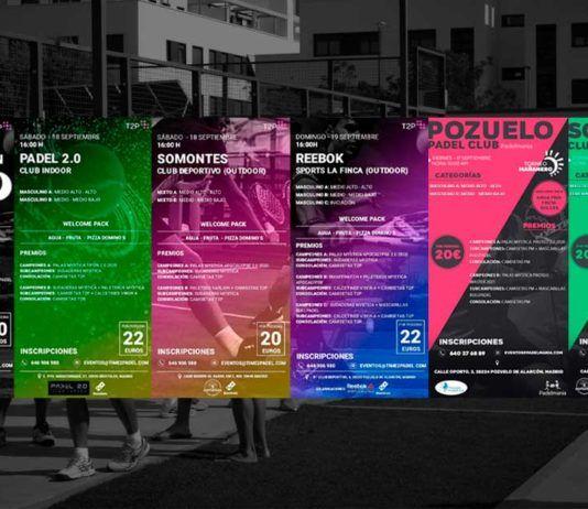 Torneos Time2Padel y Padelmanía: Una cita imprescindible para el fin de semana
