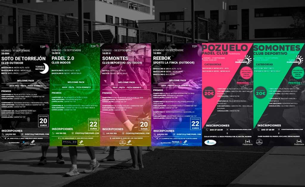 Tournois Time2Padel et Padelmanía : Un rendez-vous incontournable pour le week-end